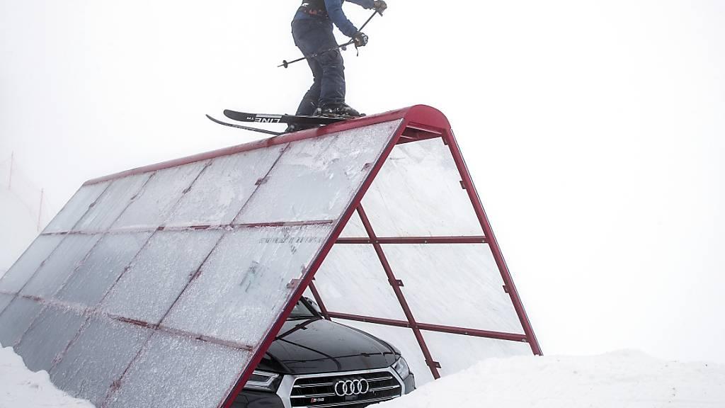 Kim Gubser überzeugt nach dem Slopestyle in Aspen auch im Big Air (Archiv)
