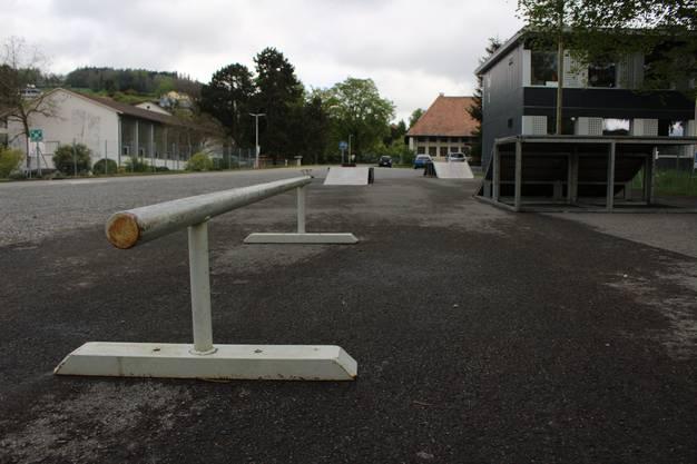 Das ist der alte Skaterplatz an der Kirchstrasse. Immer wieder kam es zu Beschwerden wegen Lärms.