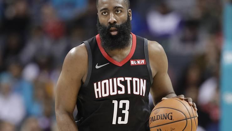 James Harden war mit 58 Punkten Hauptakteur in der Aufholjagd der Houston Rockets gegen die Miami Heat