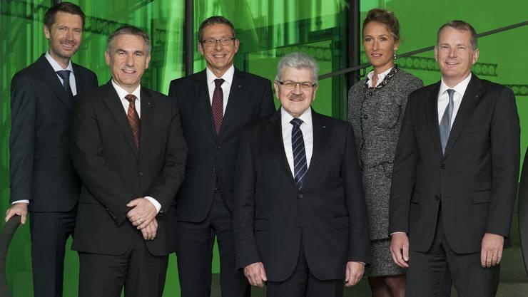 Der Aargauer Regierungsrat im Jahr 2014