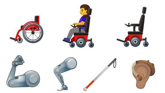 So sehen die neuen Emojis aus