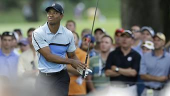 Tiger Woods muss in Rochester einen Rückschlag hinnehmen.