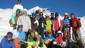 Dank kleinerer Teilnehmerzahl profitierten die Leiterinnen und Leiter persönlich mehr vom intensiven Schneesportunterricht. zvg