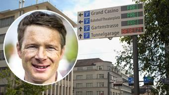 Fussverkehr Aargau, präsidiert von Jonas Fricker (Grüne), will den Bau weiterer Parkhäuser in Baden verbieten.