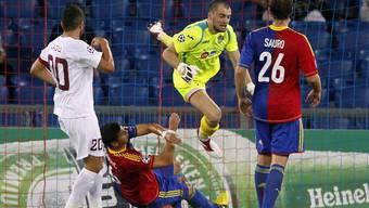Der FC Basel unterliegt Cluj in der Champions League Qualifikation mit 1:2