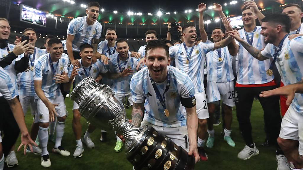 Argentinien schlägt Brasilien im Final der Copa America