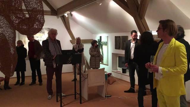 Was für ein Wohlklang: So singt Severina Stoyanova in der Kunstgalerie Bachlechner