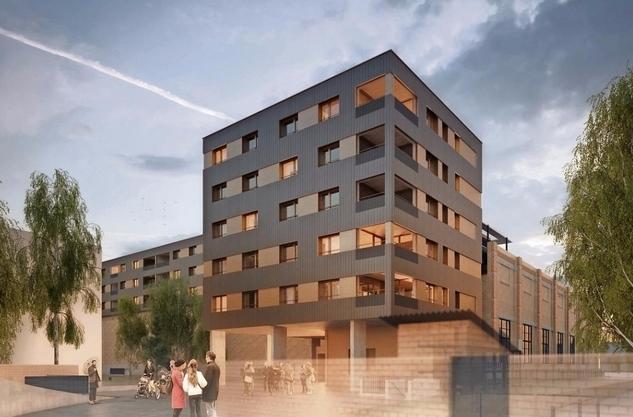 So soll es im Jahr 2020 aussehen: Auf dem Einkaufszentrum Lokwerk sollen 60 neue Wohnungen entstehen. Gegen dieses Projekt haben zahlreiche Anwohner einen Rekurs eingereicht.