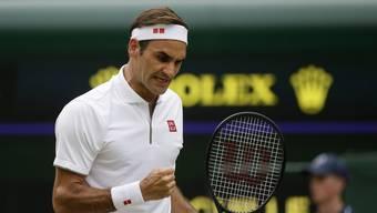BG: Roger Federer - Lucas Pouille (6.7.19)