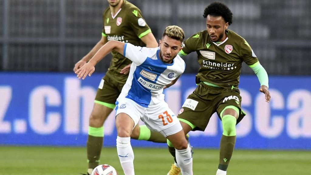 Nikola Gjorgjev düpiert im Challenge-League-Spitzenspiel Chris Kablan und den FC Thun und steht vor der Rückkehr in die Super League