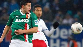 Der Ex-Basler Raul Bobadilla traf für Augsburg zur 1:0-Führung.