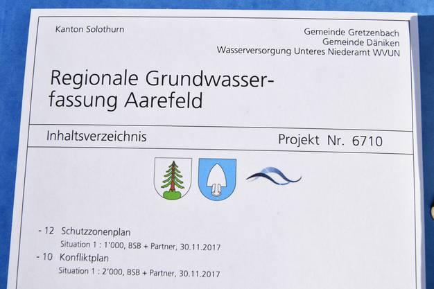 Das Niederamt erhält eine neue Grundwasserfassung.