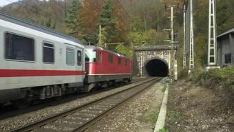 Der Hauenstein-Basistunnel wird ab 2023 für vier Jahre saniert. Wie schon während der Bauzeit 1912 bis 1916 könnte im Gebiet Tripolis der Installationsplatz eingerichtet werden.