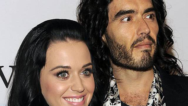 Katy Perry und Russell Brand (Archiv)