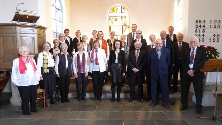 Die Mitglieder des Chor.02 sind ständig auf der Suche nach neuen Herausforderungen und freuen sich auf das Adventskonzert.ZVG