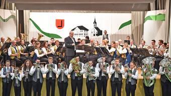 Mit dem Marsch «Arosa» fand das gemeinsame Musizieren in Herbetswil den Abschluss.