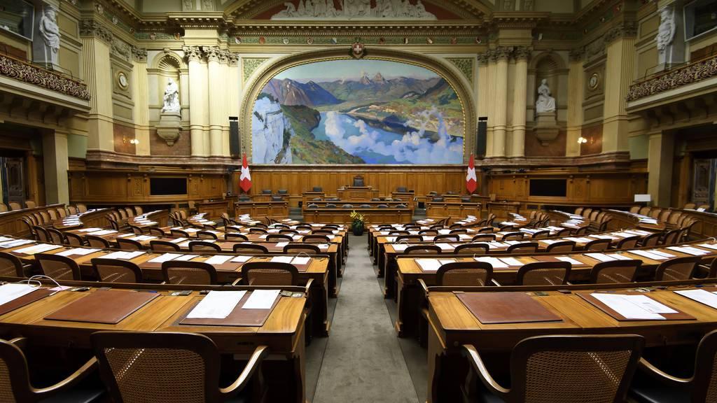 Parlament berät in Mai- und Juni-Session nur noch «dringend» eingestufte Geschäfte