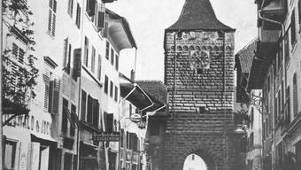 Wolfgang Wagmann: «Nostalgie. Auch falsche, wie beim Feser'schen Erbe, das Alte Berntor wieder aufzubauen.»