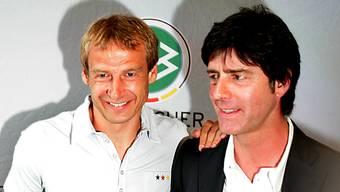 Einst gemeinsam in Diensten des DFB: Jürgen Klinsmann, Joachim Löw