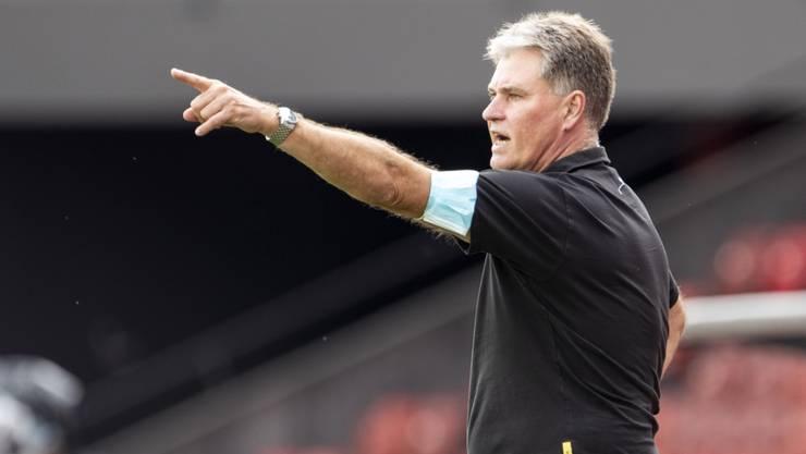 Trainer Ralf Loose führt die Winterthurer von einem Sieg zum nächsten