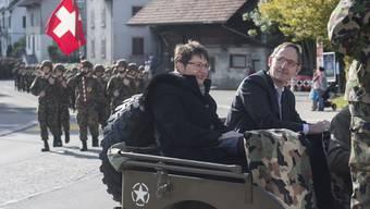 Infanterie DD Kdo 14 zieht in die Kaserne Reppischtal um