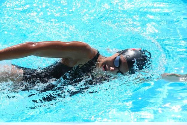 Schwimmerin Nora Meister muss derzeit auf Training im Wasser verzichten.