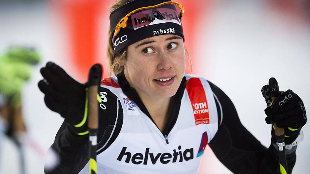 Laurien van der Graaff ist die beste Schweizer Sprinterin