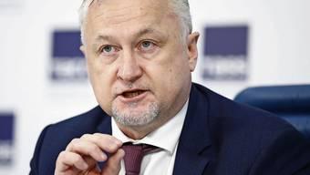 Generaldirektor Juri Ganus kämpft für die Unabhängigkeit der Russischen Antidoping-Agentur. Bild: Artyom Geodakyan/Tass (Moskau, 20. September 2019)