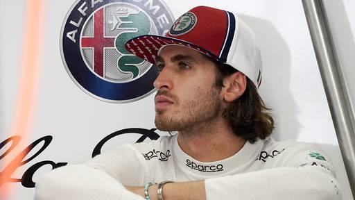 Giovinazzi auch im nächsten Jahr im Alfa Romeo