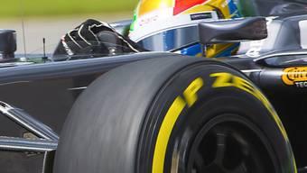 Esteban Gutierrez baute im dritten Training einen Unfall.