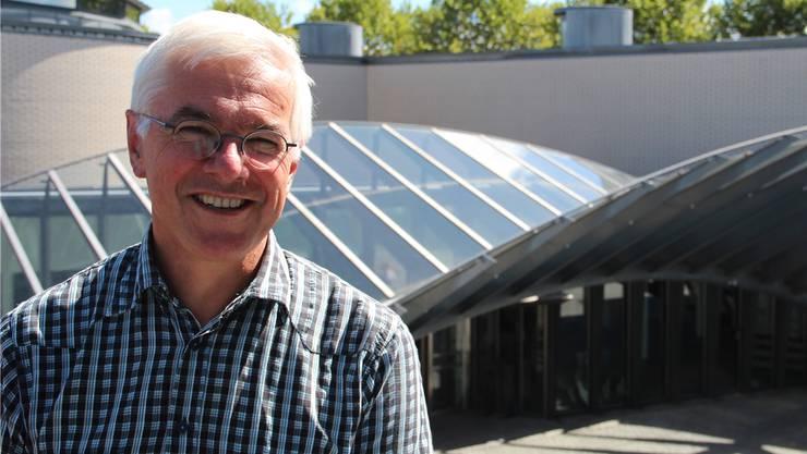 Heute ist Franz Widmer noch Rektor an der Kanti Wohlen, in einem Jahr wird er Frührentner sein.
