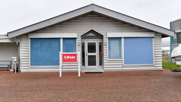 Hier wird bis auf Weiteres nicht mehr getanzt - das Lokal der Tanzschule von Jo Bucher in Dulliken steht zum Verkauf.