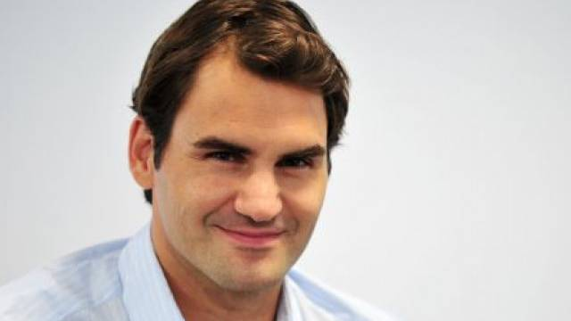 Die Flegeljahre sind längst vorbei. Und Roger Federer macht längst nicht nur auf dem Platz eine gute Figur. Foto: Moët & Chandon