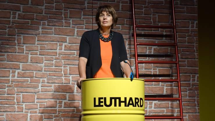 Von Leuthard zu Leuthard Bundesrätin Doris Leuthard sprach zu den Gästen.