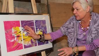 Jrène Killer präsentiert in Mägenwil ihre Werke