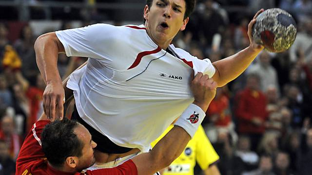 Raemy traf bei der Niederlage der Schweizer dreimal ins Netz