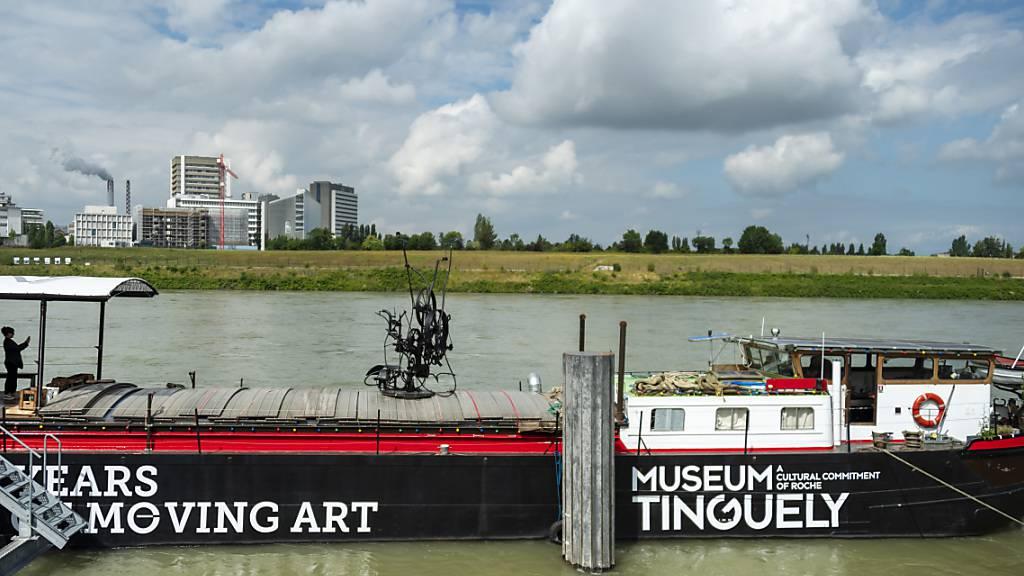 Leinen los für das Jubiläums-Schiff des Museums Tinguely Basel