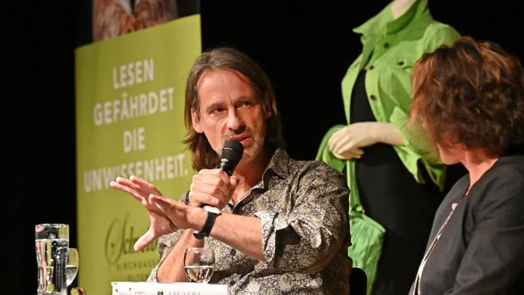 Philosoph Richard David Prechts zu Besuch in Olten.