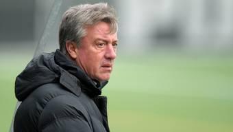 Marco Schällibaum lehnt einen freiwilligen Rückzug ab – er glaubt, der richtige Trainer für den FC Aarau zu sein.
