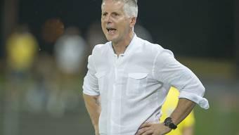FCW-Trainer Livio Bordoli verpasste mit dem FC Winterthur einen seltenen Auswärtssieg in Vaduz in letzter Sekunde
