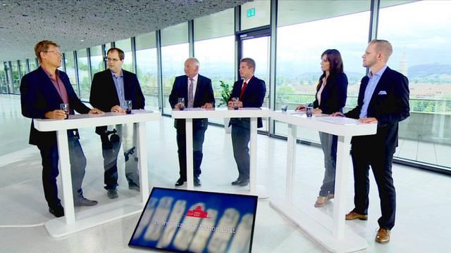 TeleBärn-Wahltalk über die schweizerische Asylpolitik