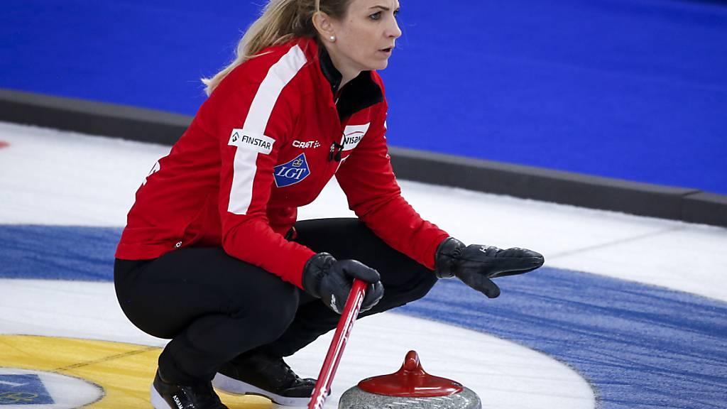 Silvana Tirinzoni wird auch im Halbfinal die Ruhe bewahren müssen