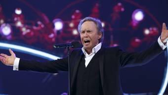 Der österreichische Sänger Peter Kraus, hier kurz vor Silvester 2017, feiert am 19. März 2019 den 80. Geburtstag. (Archiv)