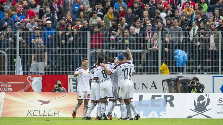 Das letzte Cup-Duell gegen den FC Winterthur konnte der FCB 2014 mit 4 0 für sich entscheiden.