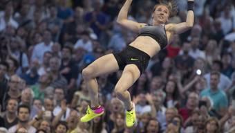 Nicole Büchler feierte in Torun nach übersprungenen 4,60 m den Sieg