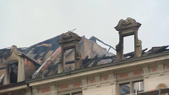 So sieht es nach dem Brand am Zürcher Bahnhofplatz aus