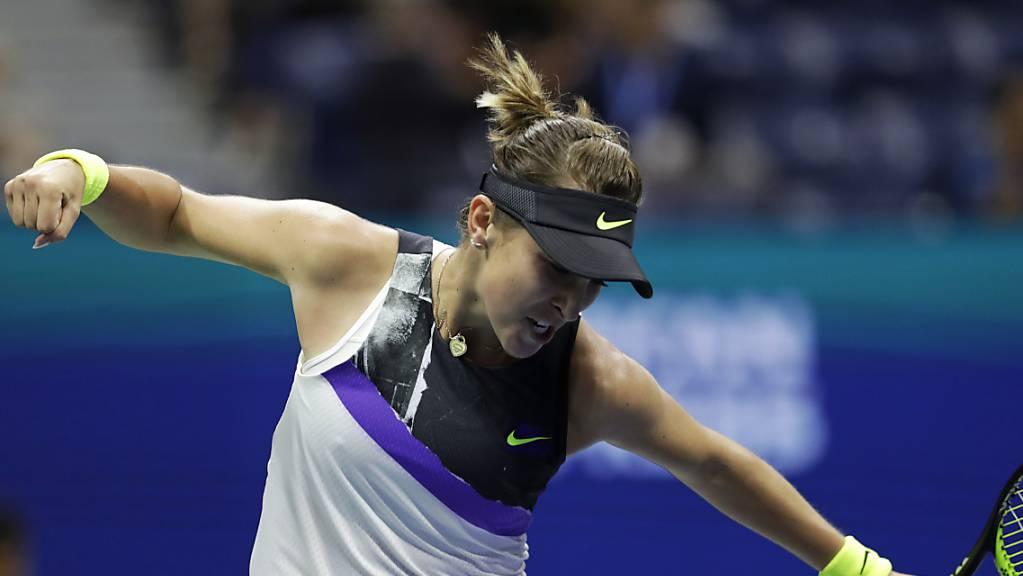 Belinda Bencic kämpft sich eine Runde weiter