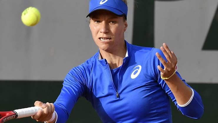 Viktorija Golubic verpasste eine gute Gelegenheit auf die zweite Viertelfinal-Qualifikation in diesem Jahr