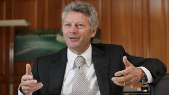 Alter und neuer Chef: Das Management unter CEO Manfred Thumann setzt seine Arbeit unter neuem Firmennamen fort. (Bild: Hünerfauth)