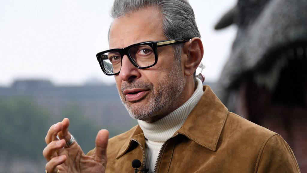 Jeff Goldblum plant ein Jazz-Album